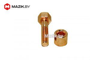 Болт М10* 45 коллектора выпускного со втулкой, РФ 1 240Н-1008504/10