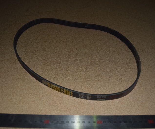 Ремень поликлиновой (1025) генератора ЯМЗ-650, 650-3701032, Sico Rubena,Чехия 1 5РК-1025