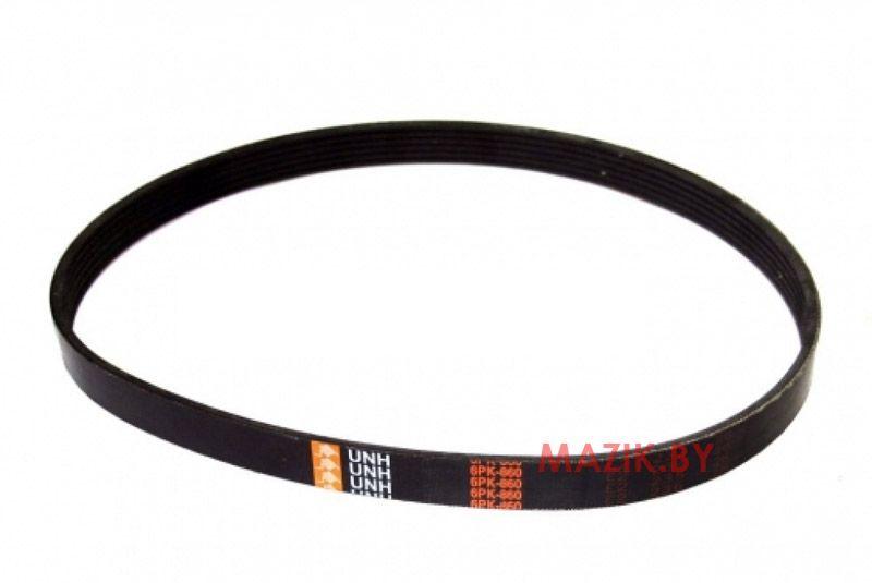 Ремень поликлиновой ( 860) генератора ЯМЗ-656, -658, PRC 1 6РК-860