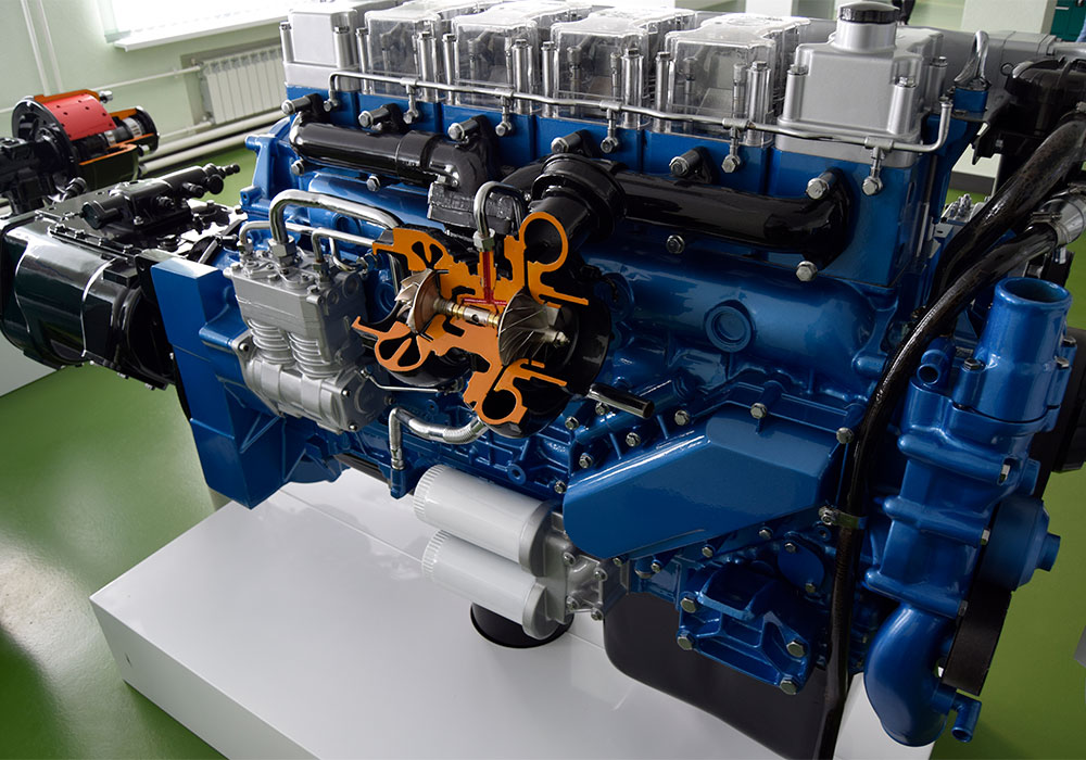 Двигатели Weichai для МАЗ 7