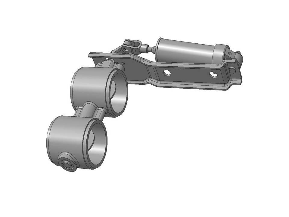 Заслонка Моторного Тормоза МАЗ 4