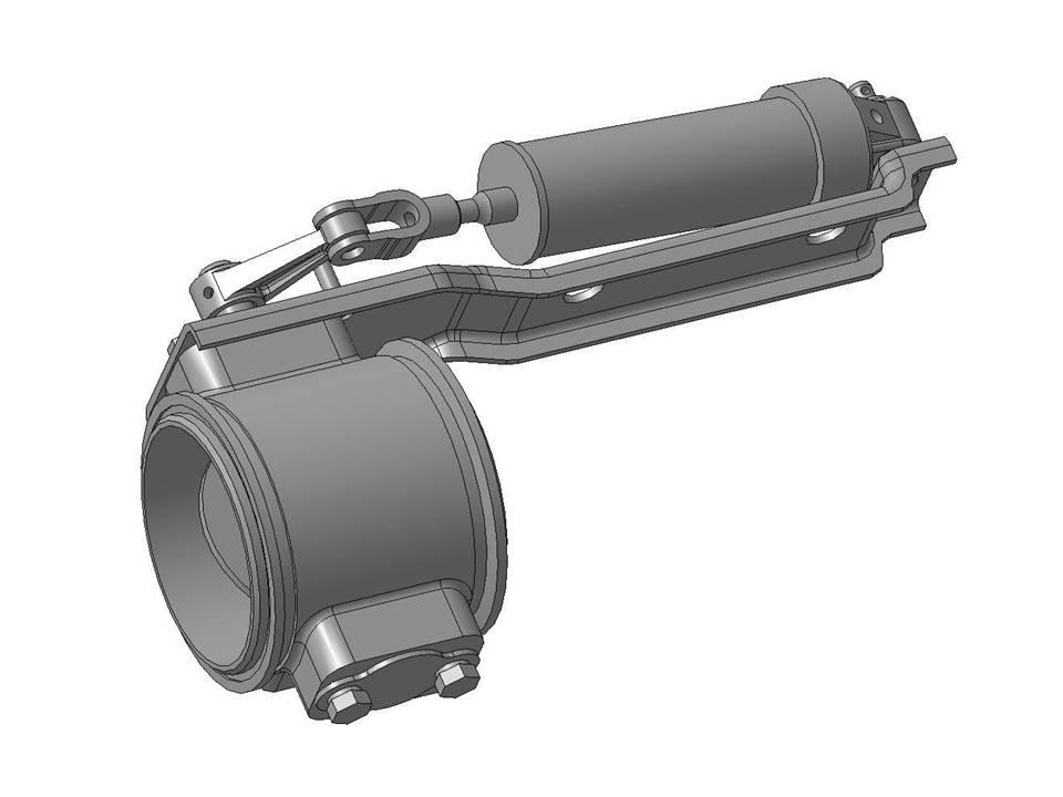 Заслонка Моторного Тормоза МАЗ 1