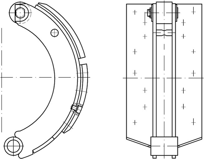 Тормозная система МАЗ 4